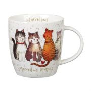 Alex Clark Marvellous Moggies Cat Mug